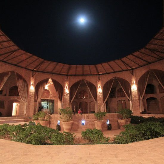 The Zein-o Din Caravanserai